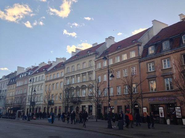 Calle Krakowskie Przedmieście